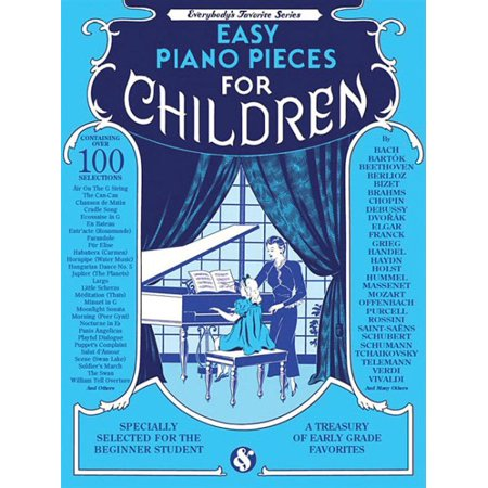 Easy Piano Pieces for Children: Everybody's Favorite Series (Paperback)