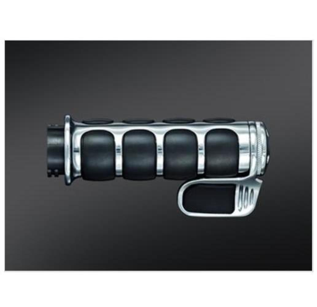 Kuryakyn 6342 Premium ISO-Grip with Throttle Boss