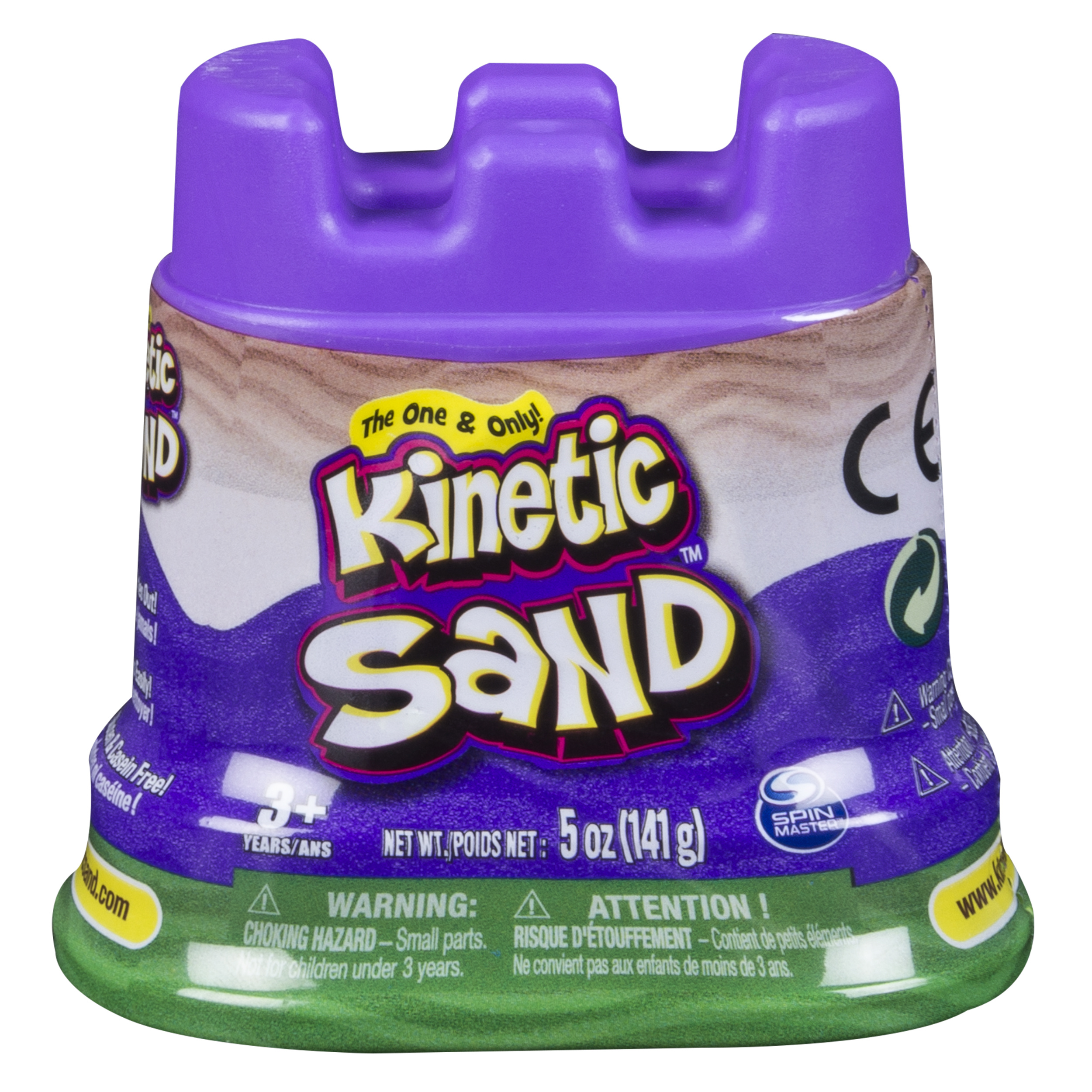The One & Only Kinetic Sand 5 oz Single Container, Green