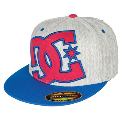DC Ya Heard Flex Fit Hat Large/X-Large Blue Iris/Monument