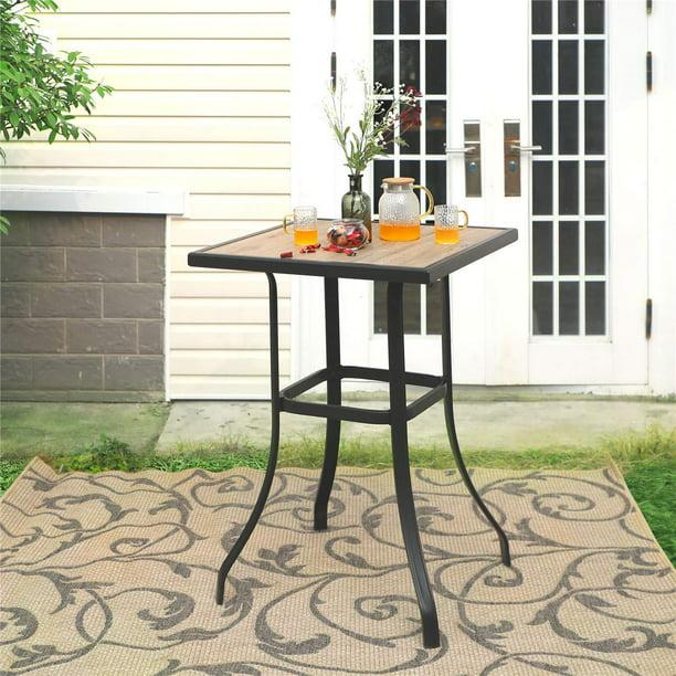 Mf Studio Patio Bar Table Outdoor, Outdoor Bar Top Dining Table