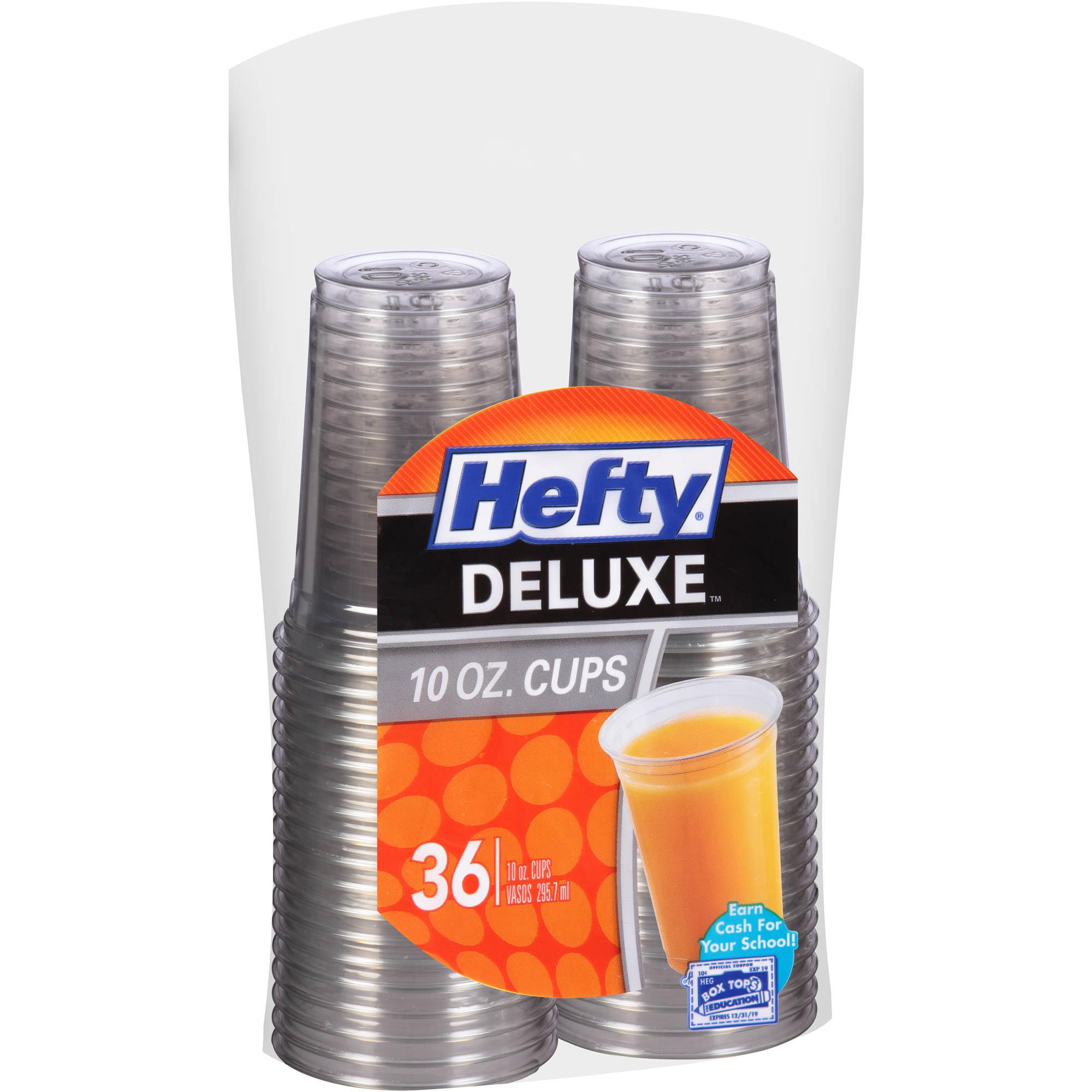 Hefty Deluxe 10 oz Cups, 36 count