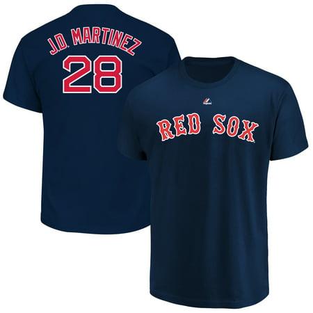 JD Martinez Boston Red Sox Majestic Youth Name & Number T-Shirt - (Martinez Signed Jersey)
