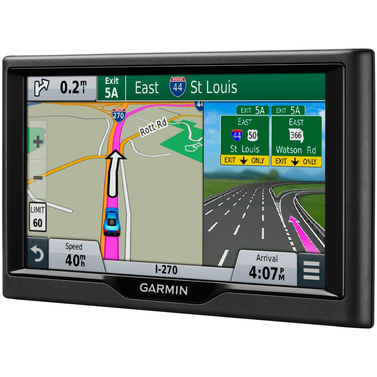 Garmin Nuvi 68LM 6-INCH GPS Navigator - US And Canada Map...