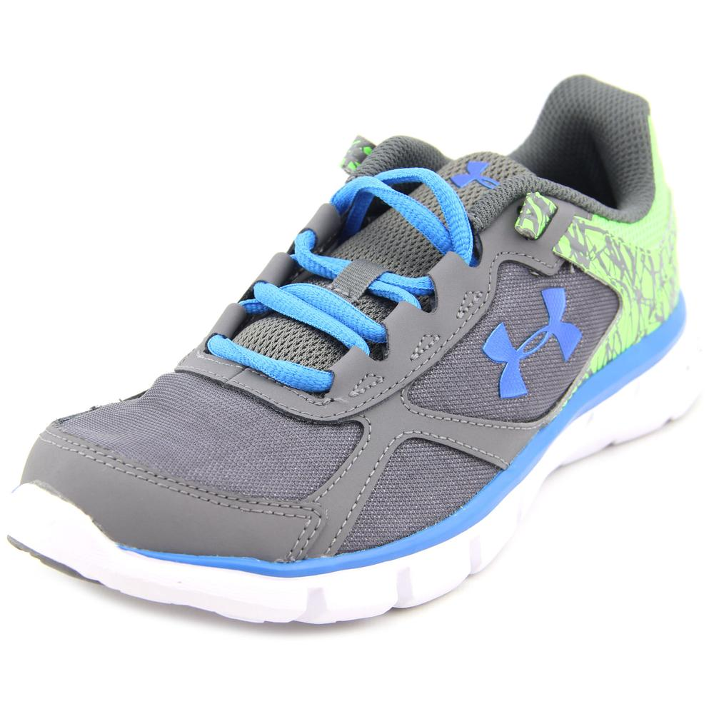 Under Armour GPS VELOITY RN GT Youth  Round Toe Synthetic...