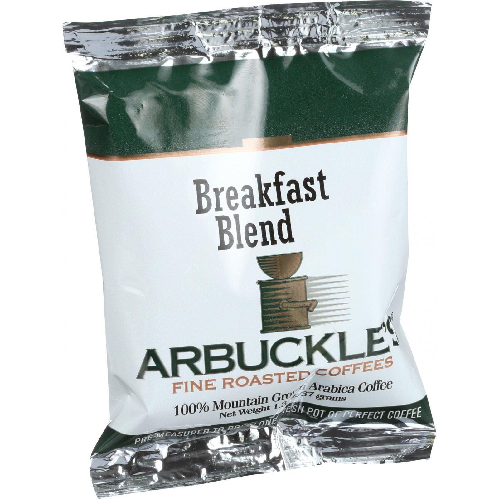 Arbuckles' Coffee - Breakfast Blend - 1.3 oz - Case of 10