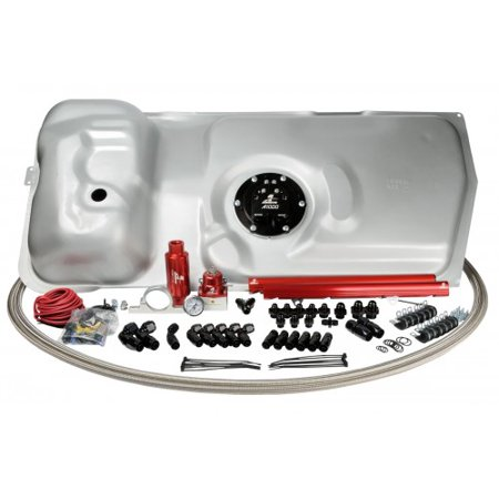Aeromotive Stealth Fuel System for 86-98.5 A1000 5.0L Fox Body Mustang - (Ls Motor Mounts For Fox Body Mustang)