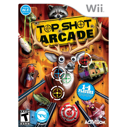 Top Shot Arcade W/Gun (Wii)