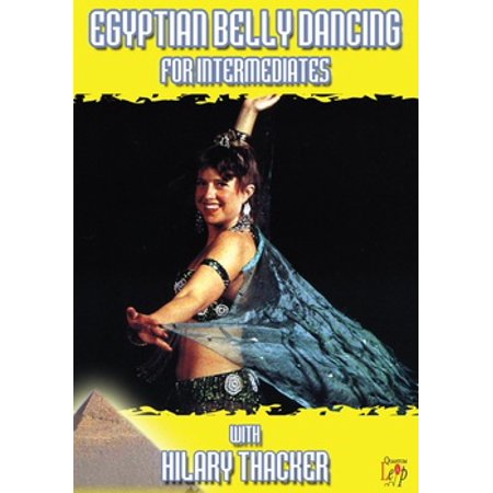 Egyptian Belly Dancing For Intermediates (DVD)