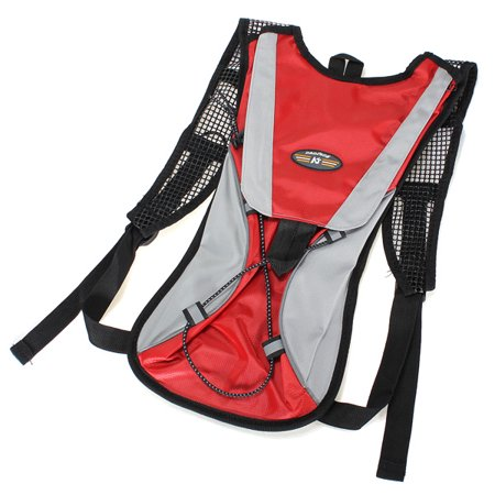 Hydration Water Reservoir Bladder Backpack Cycling Bag Hiking Climbing Pouch  2L Water Bladder Red