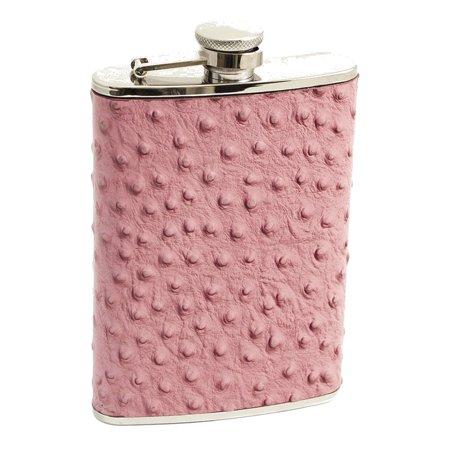 Bey Berk 8 Oz. Stainless Steel Pink