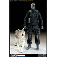 GI Joe Snake Eyes & Timber 1/6 Collectible Figure