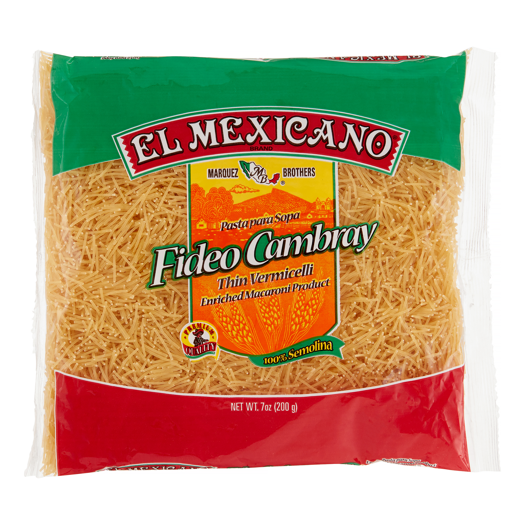 (12 Packs) El Mexicano Thin Vermicelli Pasta, 5.25lb, $0.42 /lb