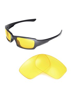 798a8c0a57d Product Image Walleva Yellow Replacement Lenses for Oakley Fives Squared  Sunglasses