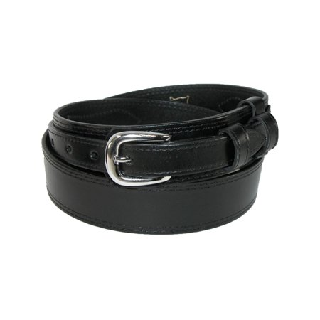 Men's Big & Tall Leather Removable Buckle Ranger Belt (Ranger Belt Buckle)
