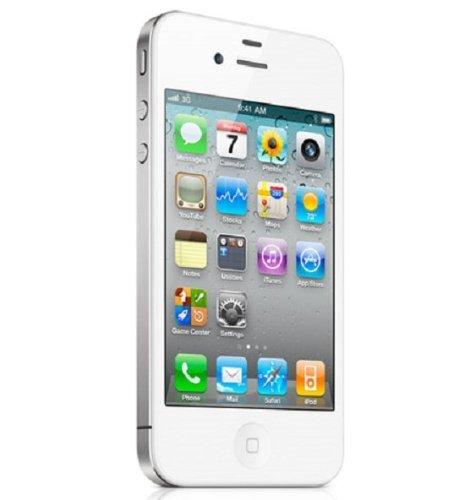 White Factory Unlocked Apple Iphone 4 8gb AtT Smartphone