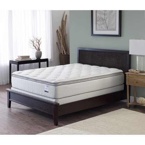sleep inc slumber pillow top mattress multiple sizes. Black Bedroom Furniture Sets. Home Design Ideas