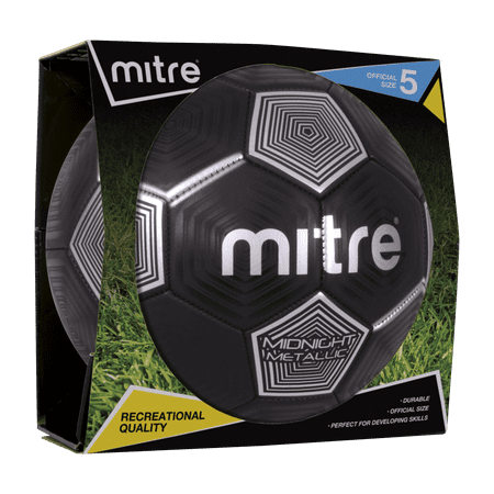 Mitre Metallic Size 5 Soccer ball - Soccer Ball Glow In The Dark