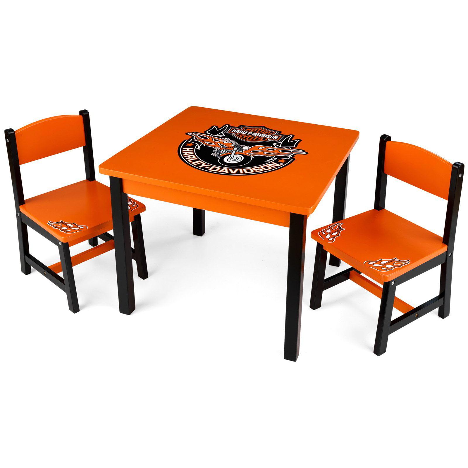 KidKraft Harley-Davidson Table & 2 Chair Set - 10212