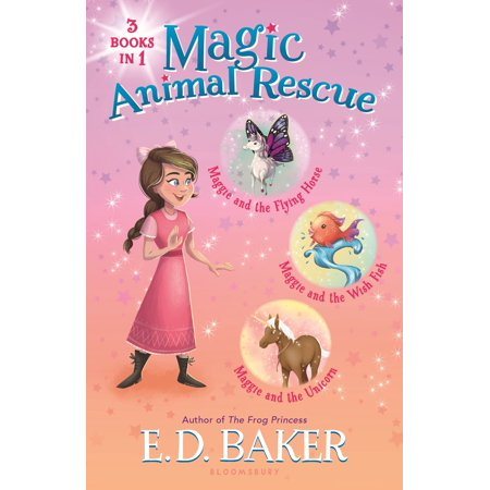 Magic Animal Rescue Bind-up Books 1-3 : Maggie and the Flying Horse, Maggie and the Wish Fish, and Maggie and the Unicorn - Number Of Horns On A Unicorn