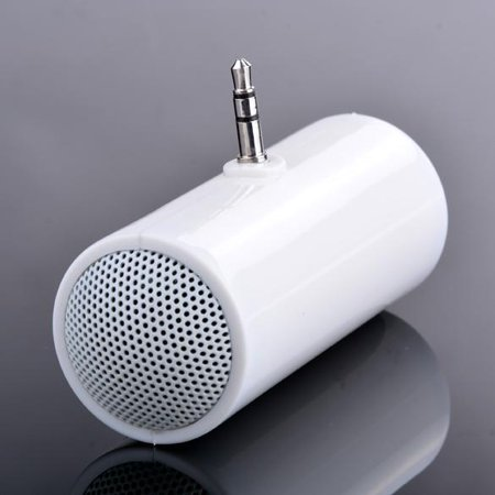 Portable Speaker Stereo 3.5mm Mini Speaker Music MP3 Player Amplifier Loudspeaker For Mobile Phone Tablet HFON ()