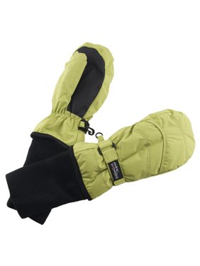 SnowStoppers Medium Lime Green Mittens
