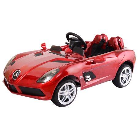 Costway mercedes benz z199 12v electric kids ride on car for Mercedes benz ride on car with remote control