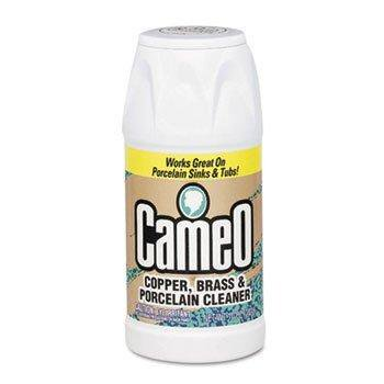 Copper, Brass & Porcelain Cleaner, 10 oz, Powder, Can Cameo Brass Finish