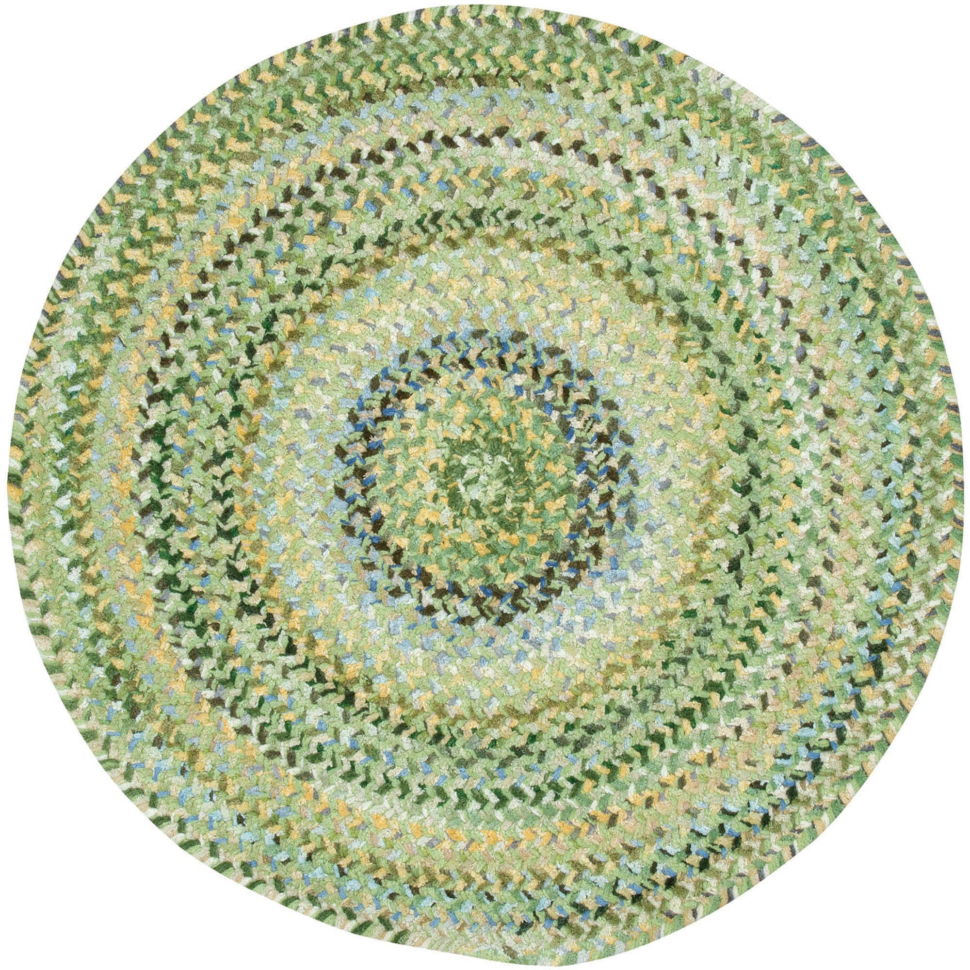 Ocracoke Round Braided Area Rug