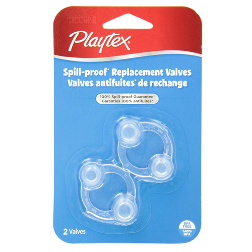Playtex Spill-Proof Cup Replacement Valves -  2 Ea