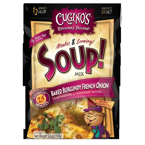 Cugino's Baked Burgundy French Onion Soup! Mix, 5.6 oz
