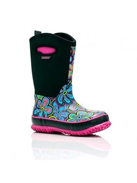Perfect Storm Kids Power Flower II  BOOT, Black/Pink, 11
