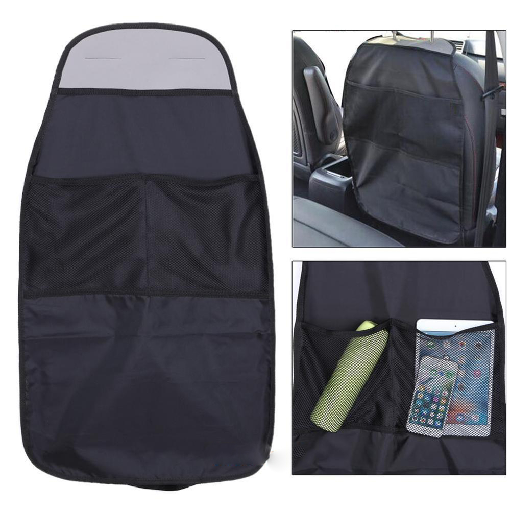Girl12Queen Car Seat Back Protector Cover for Children Babies Kick Mat Protect From Mud Dirt