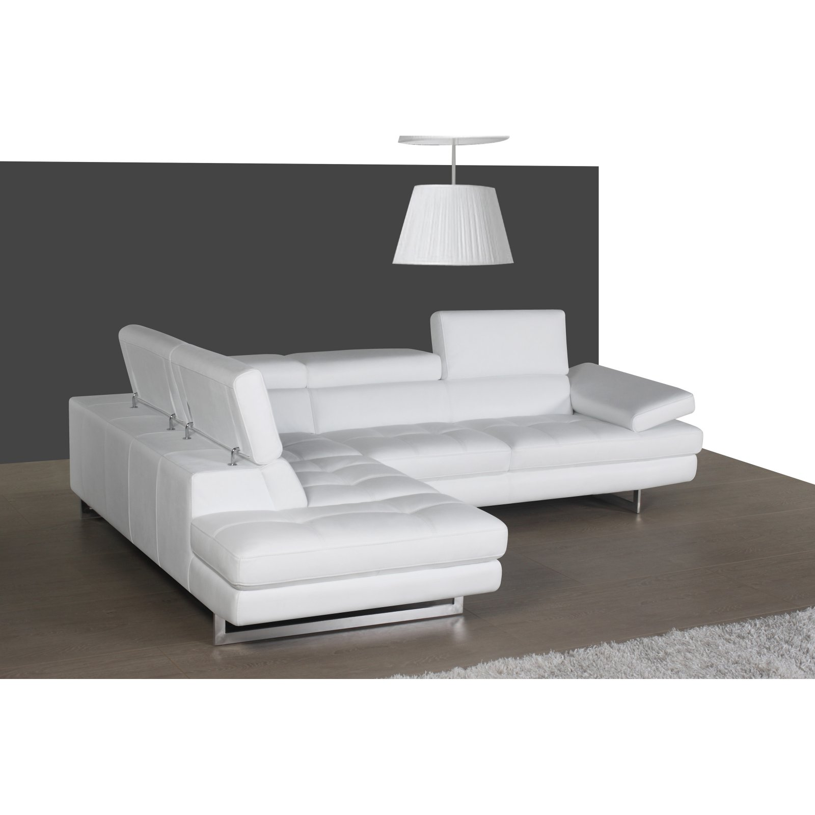 J&M Furniture A761 Left-facing Chaise Sectional Sofa
