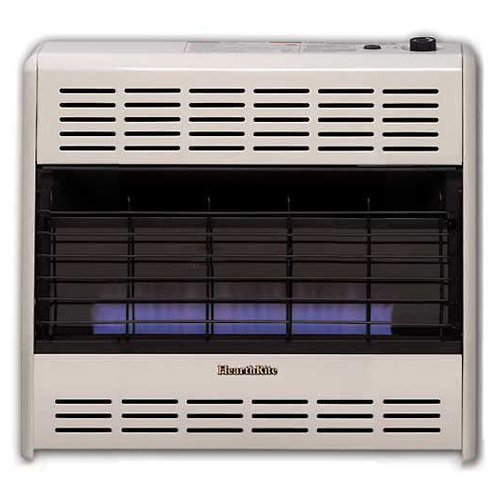Empire Vent-Free Blue Flame Heater LP 30000 BTU, Manual Control