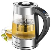 Best Electric Tea Makers - CHULUX Electric Glass Kettle,Variable Temperature Hot Water Boiler Review