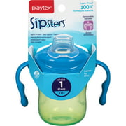 Playtex Sipsters Stage 1 Spout Trainer Sippy Cup, 6 Oz (Color May Vary)