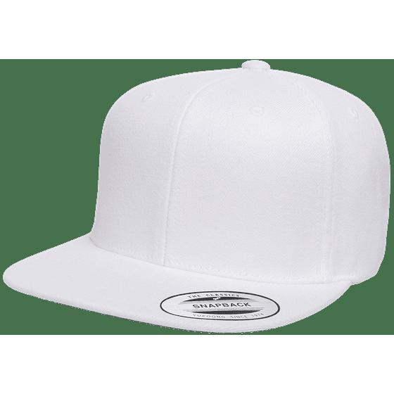 ebebb5e06ce51 Yupoong - The Hat Pros Snapbacks Flexfit Pro-Style Snapback Hats w  Green  Underbill 6089M (Black) - Walmart.com