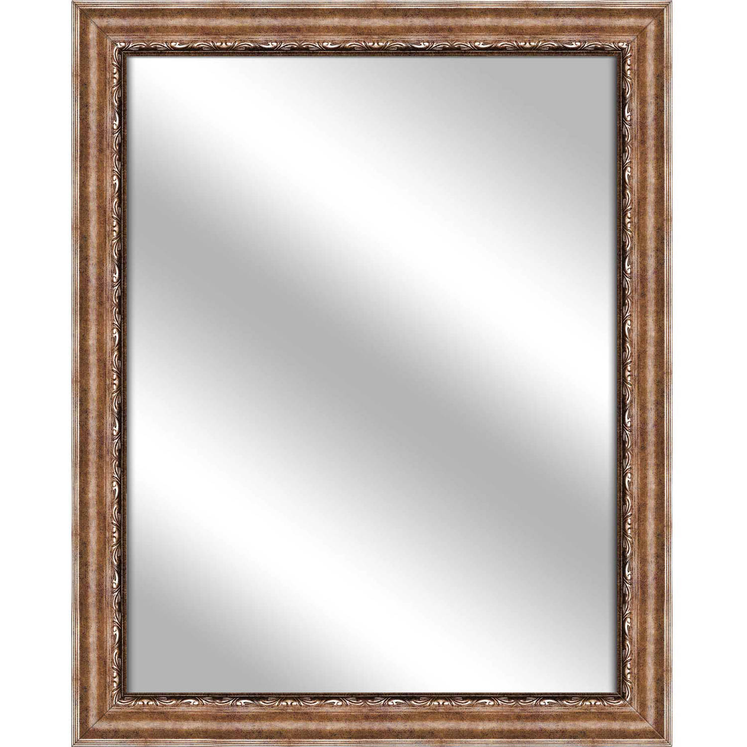 Vanity Mirror, Gold, 25.75x31.75 by PTM Images