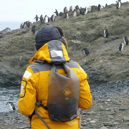 Barlii Waterproof Dry Sack Backpack For Electronics 10l