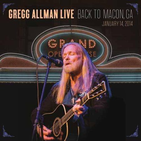 Gregg Allman Live   Back To Macon  Ga  Januarary 14  2014