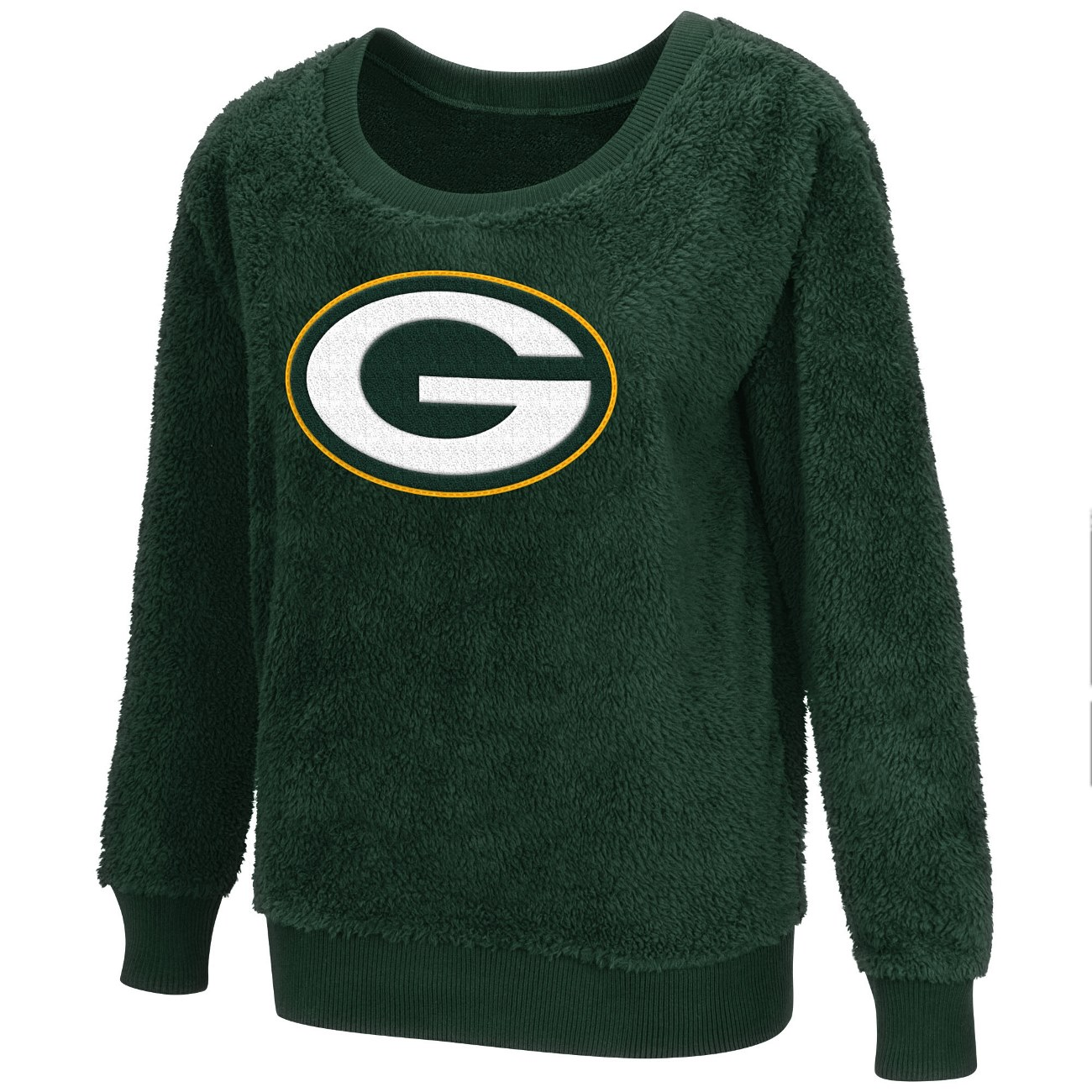"Green Bay Packers Women's G-III NFL ""Guide"" Premium Sherpa Sweater Shirt"