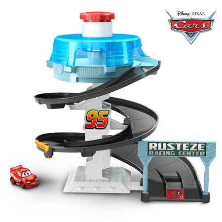 Raceway Single (Disney/Pixar Cars Mini Racers Rust-eze Spinning Raceway Playset )