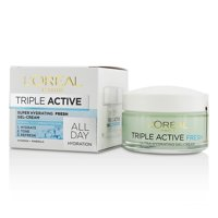 L'Oreal - Triple Active Super Hydrating Fresh Gel-Cream - For Normal To Combination Skin -50ml/1.7oz
