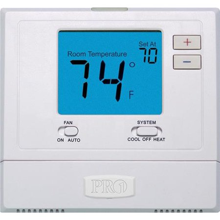 PRO1 T701 Non-Programmable Single Stage Digital Thermostat