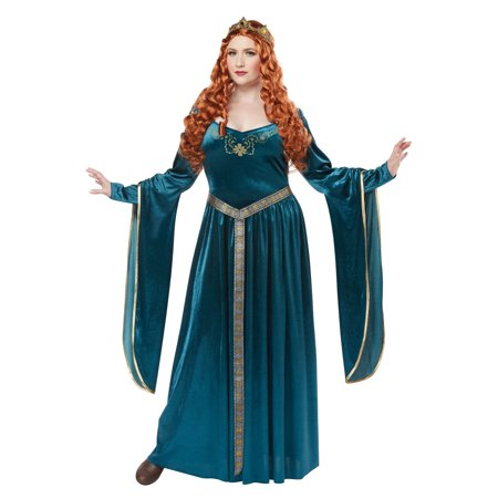 Queen Guinevere Costume (Lady Guinevere Plus Size Costume)