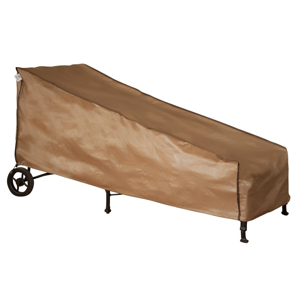 Abba Patio Weatherproof Outdoor/Porch Patio Chaise Lounge Cover, Water Resistant, 84''L x 34''W x 34''H