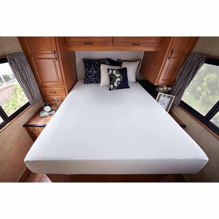 Sleep Revolution 8 Quot Memory Foam Rv Mattress Short Queen