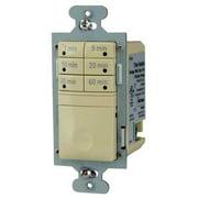 WATT STOPPER RT-50-I Time Switch, 7 Button, 600W, 1-60Min, Ivory