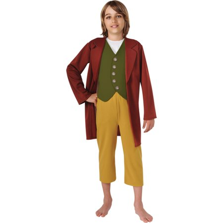 Morris costumes RU881460MD Hobbit Bilbo Baggins Child Med - Frodo Baggins Costume